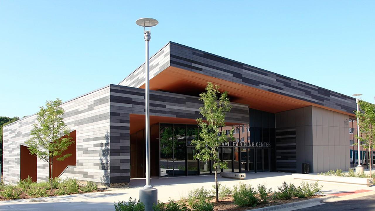 Exterior of Valley Dining Center