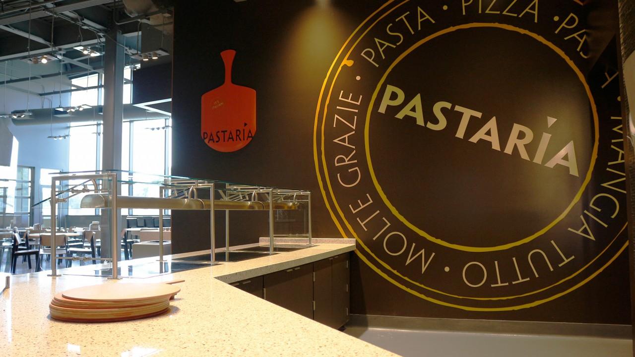Pastaria micro-restaurant