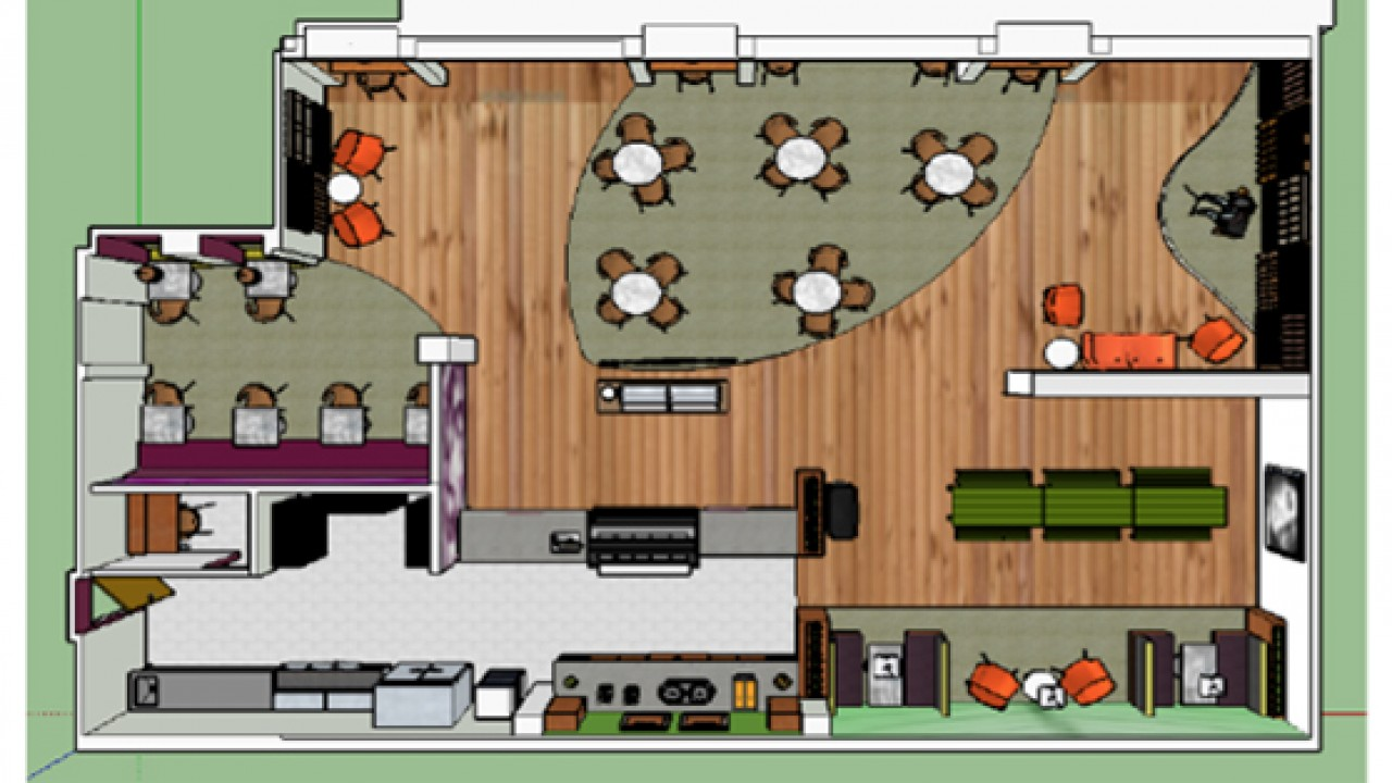 Sustainable Cafe