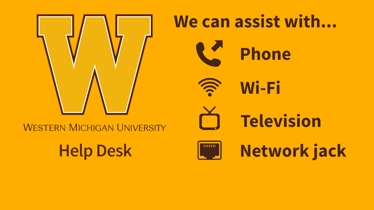 ITDirect.  Assist with phone, wi-fi, television, or network