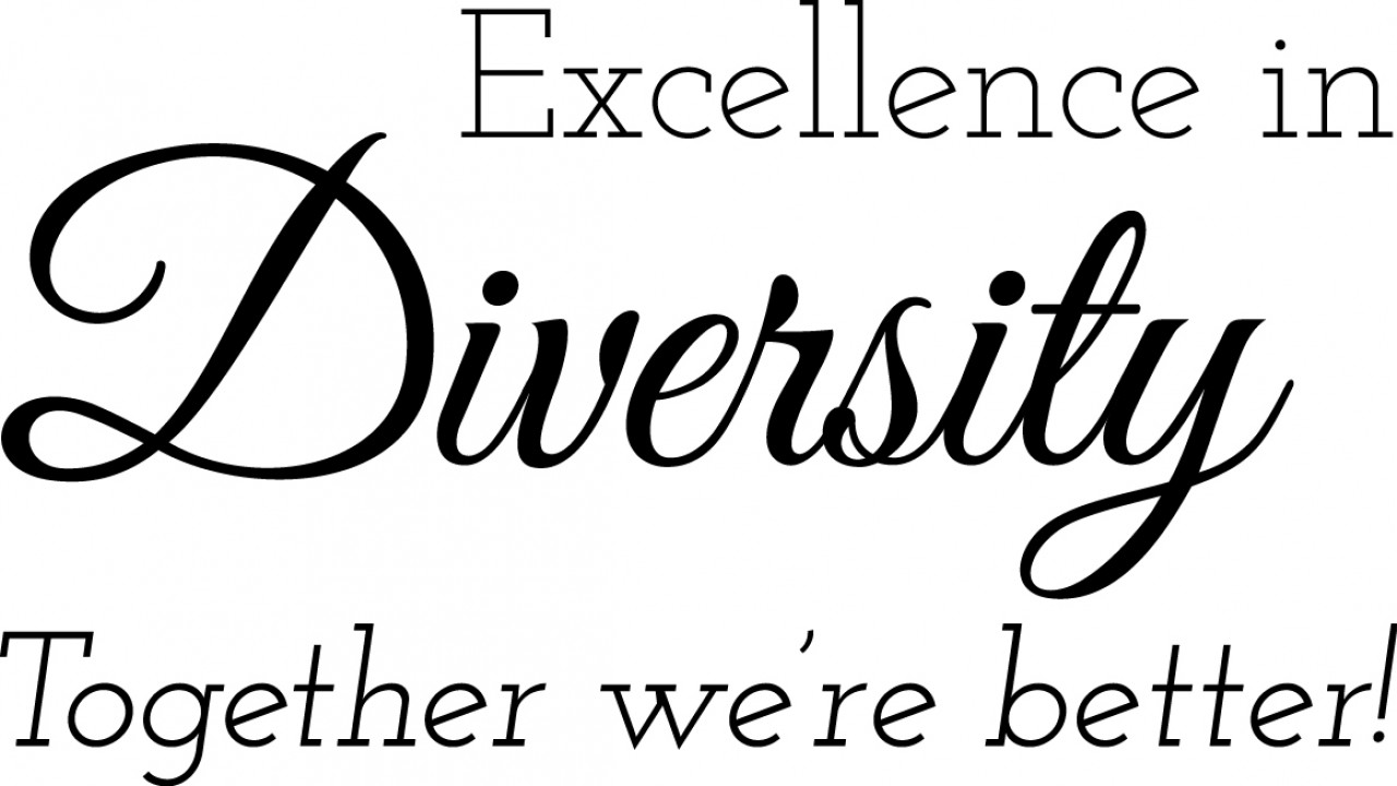 Logo Excellence in Diversity Together we're better!