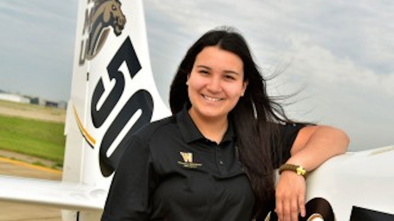 WMU pilot preparing for the Women's Air Race