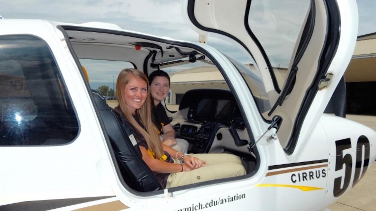 WMU Pilots in the Air Race Classic