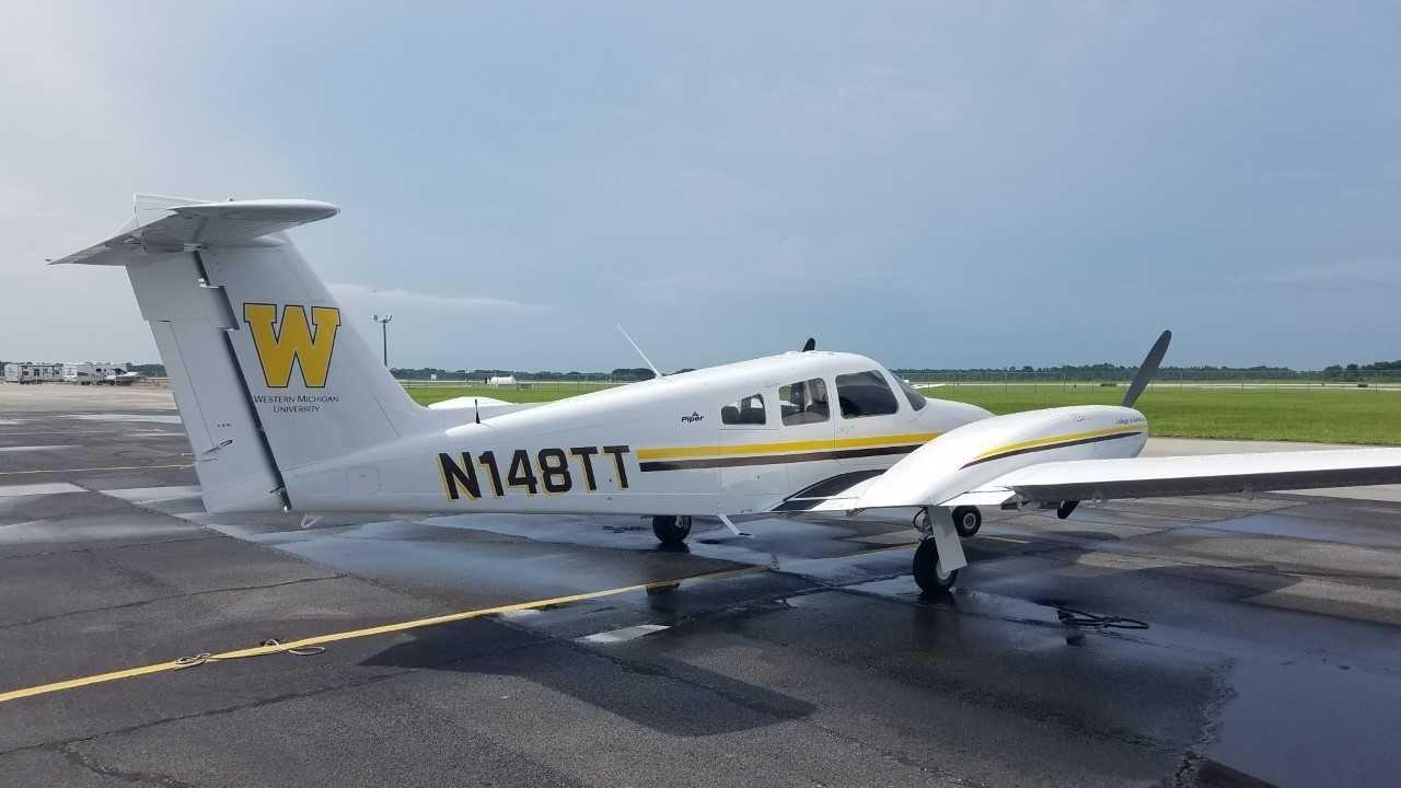 Western Michigan University College of Aviation Piper Seminole
