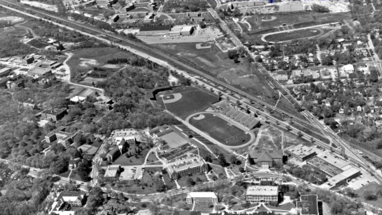 WMU Campus Aerial View 1959