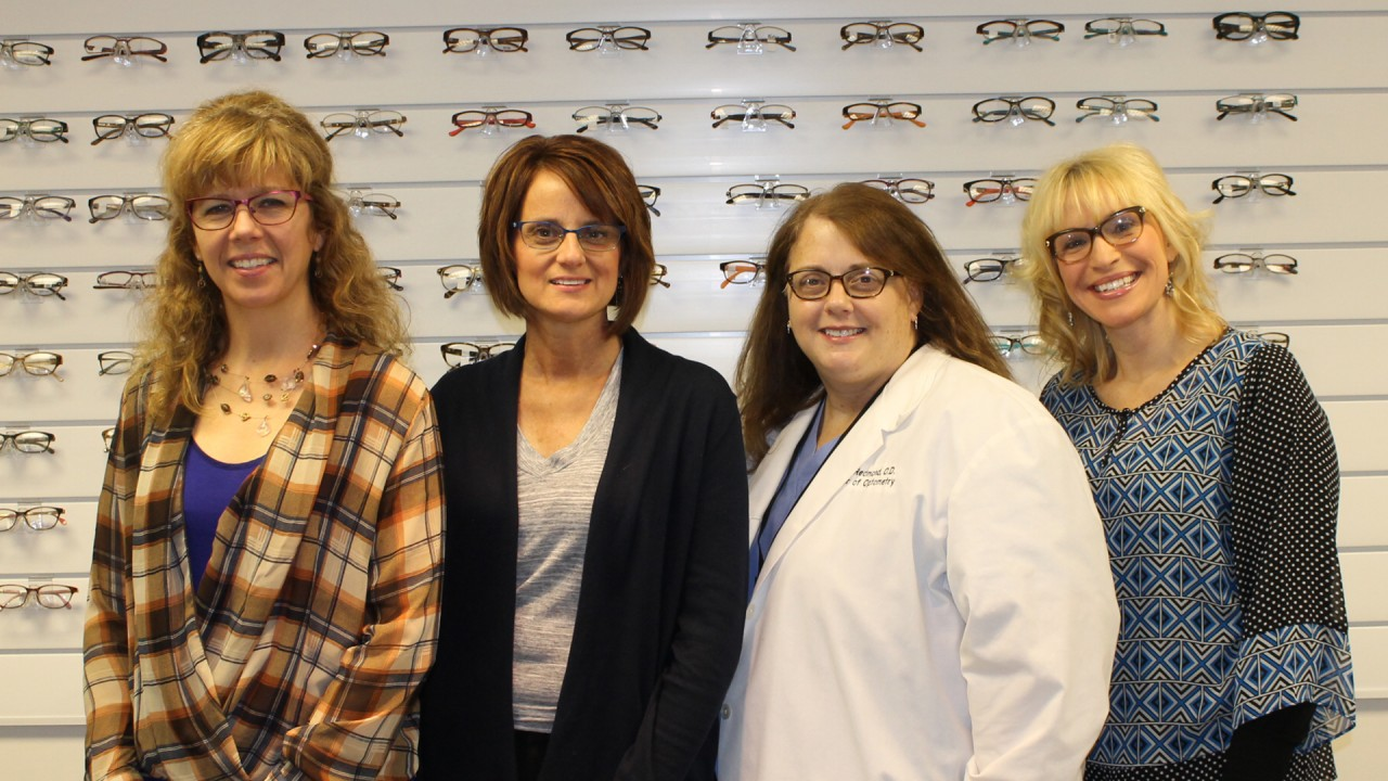 Vision Clinic staff