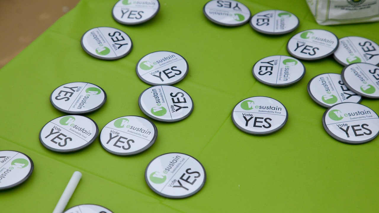 SFI buttons on green background.