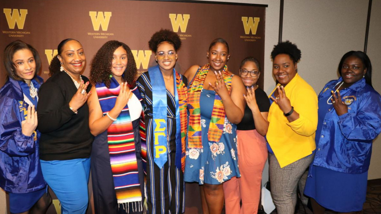 Graduates celebrate at WMU's Spring 2019 Celebration of Excellence ceremony.