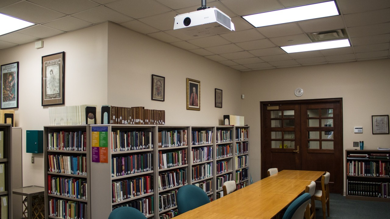 Image of the Richard Rawlinson Center for Anglo-Saxon Studies and Manuscript Research.