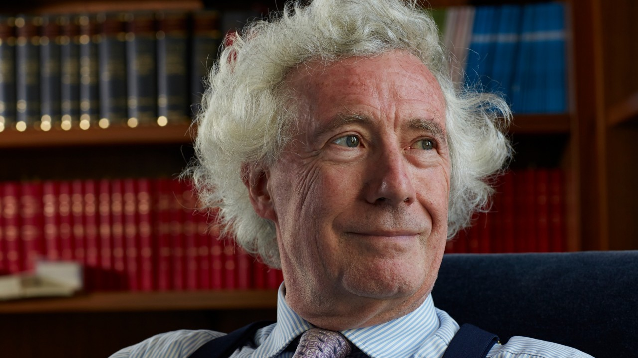 Photograph of Jonathan Sumption, winner of the 2017 Otto Gründler Book Prize.