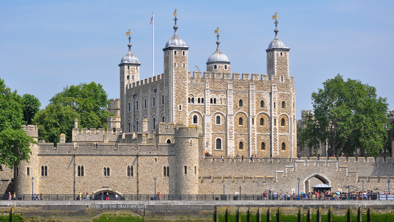 Image of the Tower of London. Photo: Bob Callowan Creative Commons.