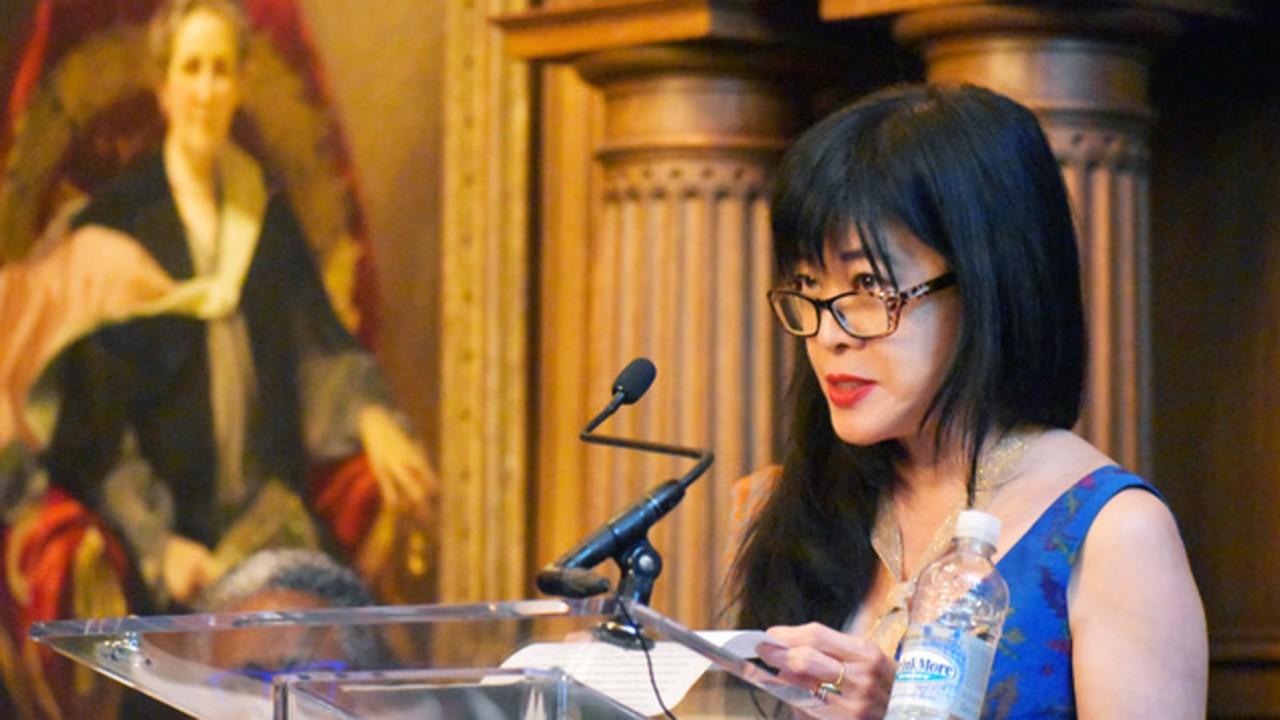 Image of Geraldine Heng, winner of the 2020 Gruendler Book Prize.
