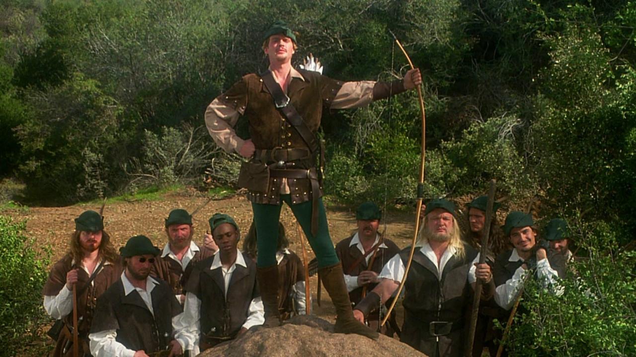 """Still from the film """"Robin Hood: Men in Tights."""""""
