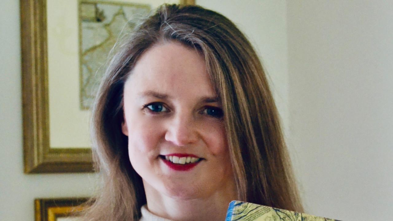 Marion Turner, winner of the 2021 Gruendler Book Prize.