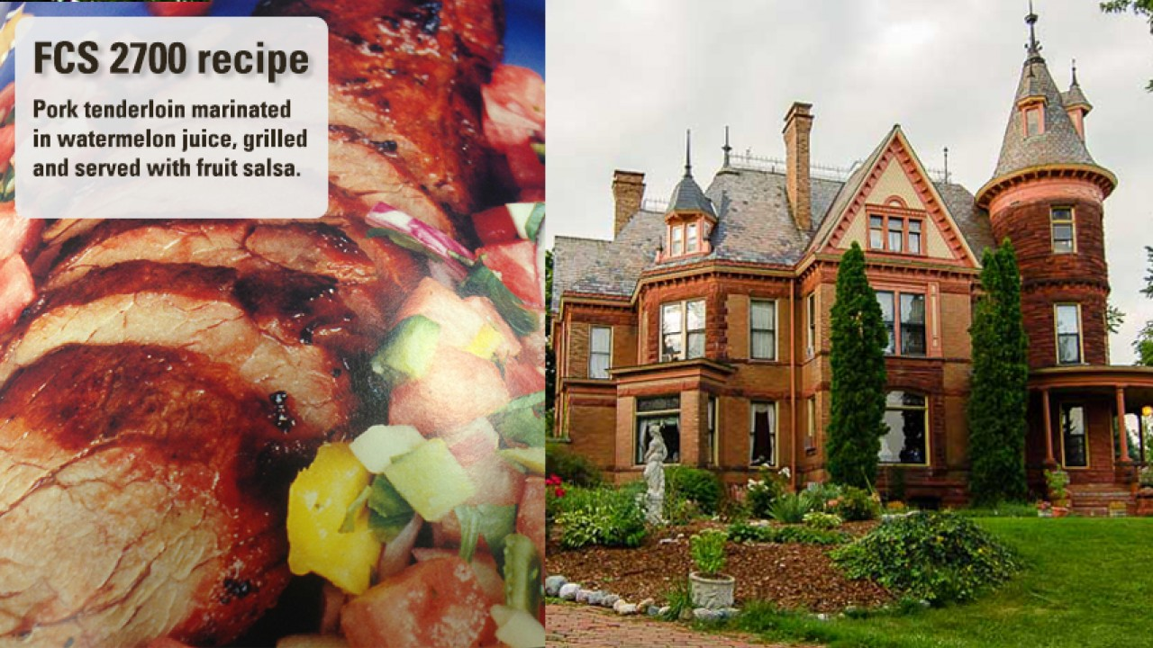 FCS 2700 Advanced Culinary Skills students visited Kalamazoo's Henderson Castle and prepared a fantastic meal.