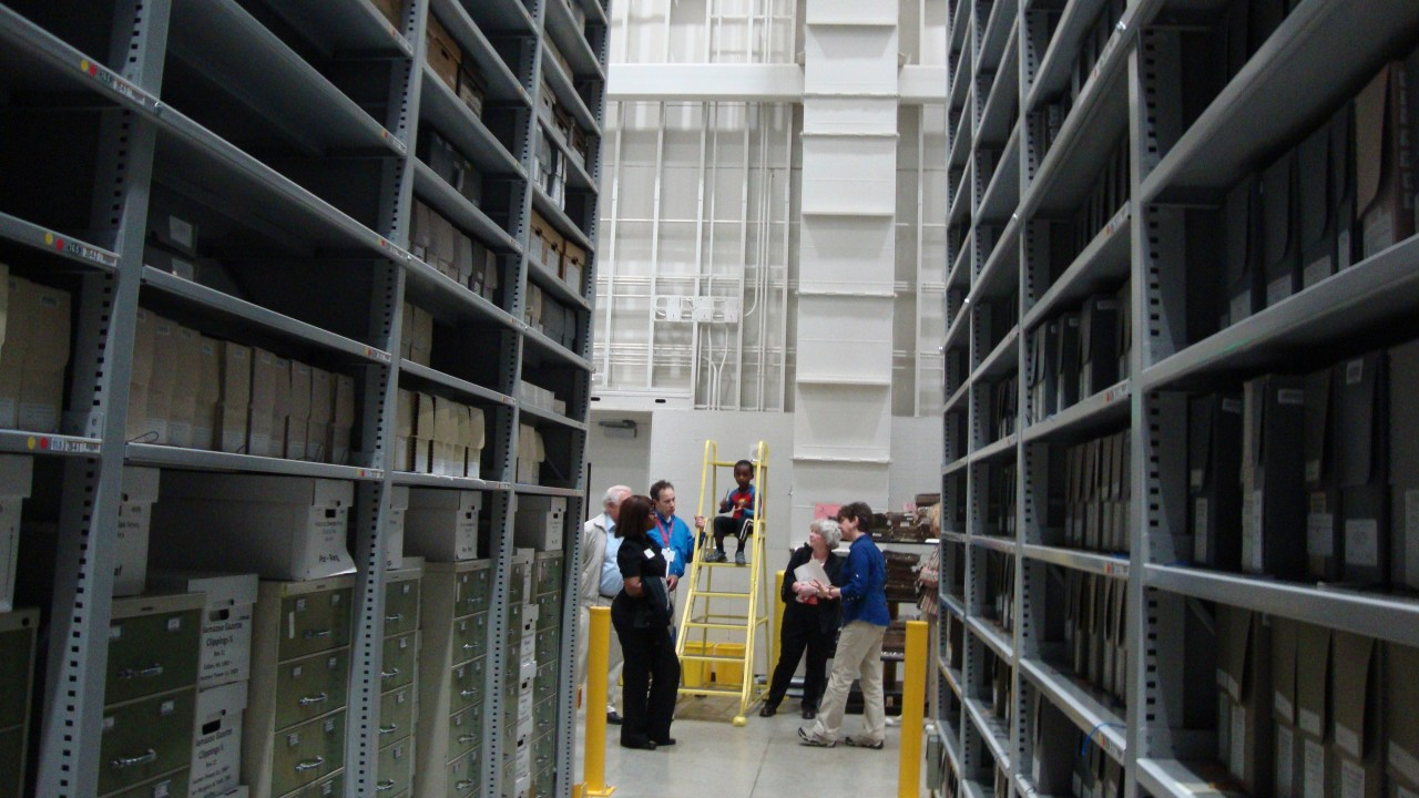 High density stacks at the Zhang Legacy Center