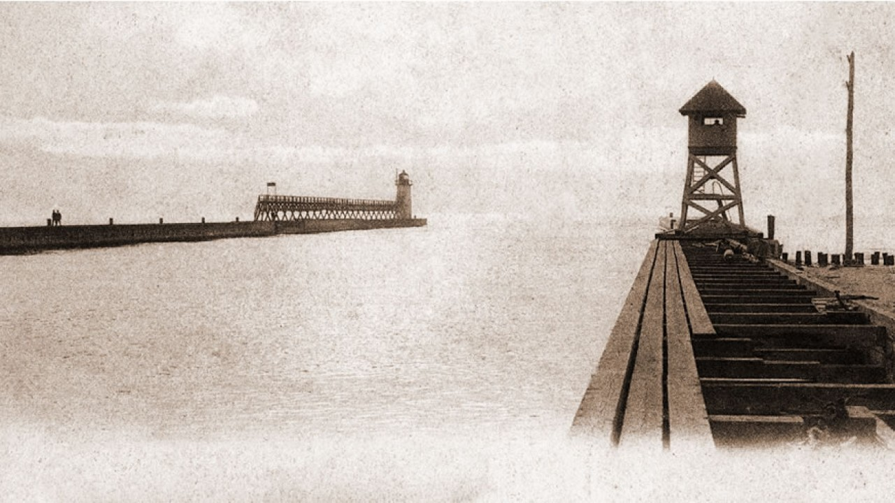 Online access to digitized South Haven Lighthouse Logs, 1872-1889