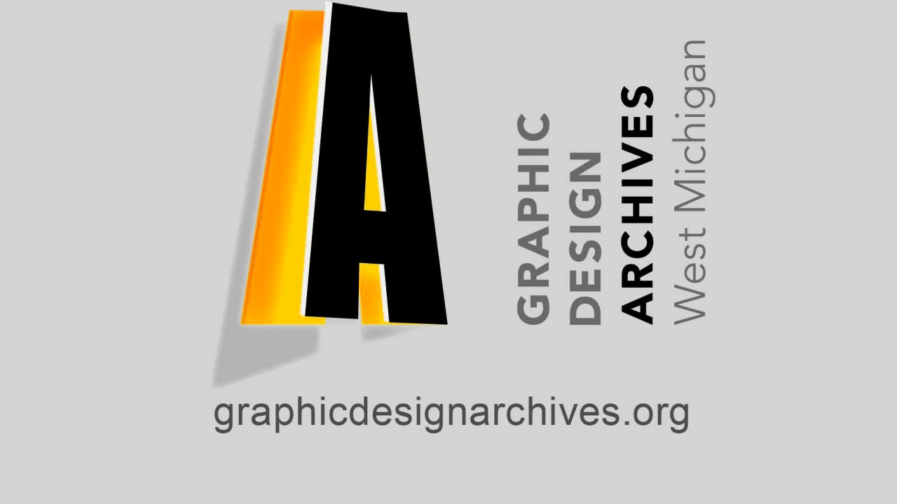 Image of logo of the graphic design archives of West Michigan