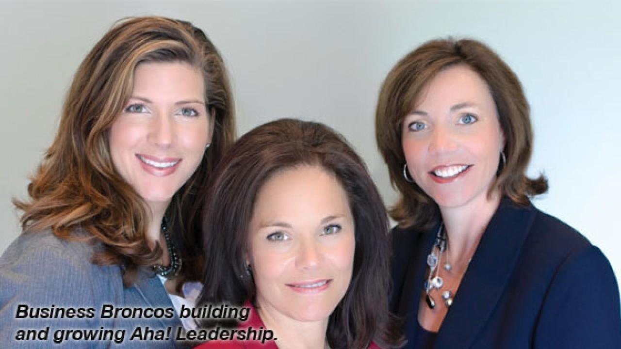 Photo of Aha leadership team