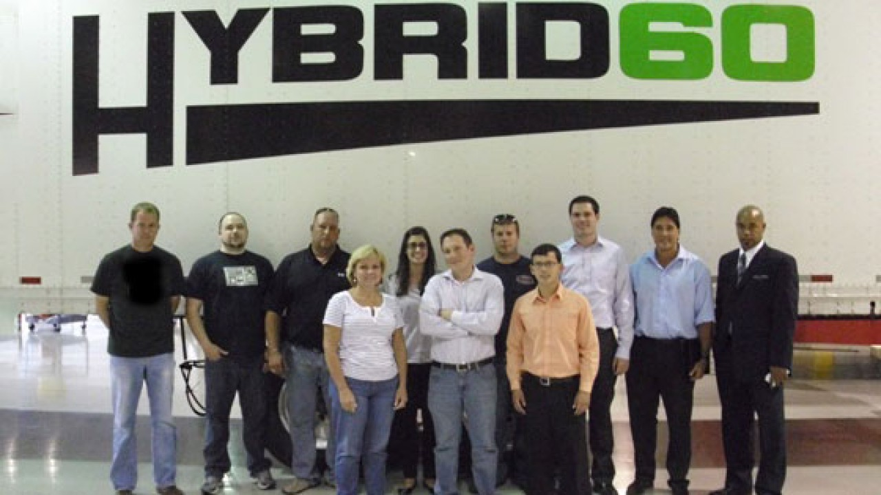 Photo of students at Hybrid60