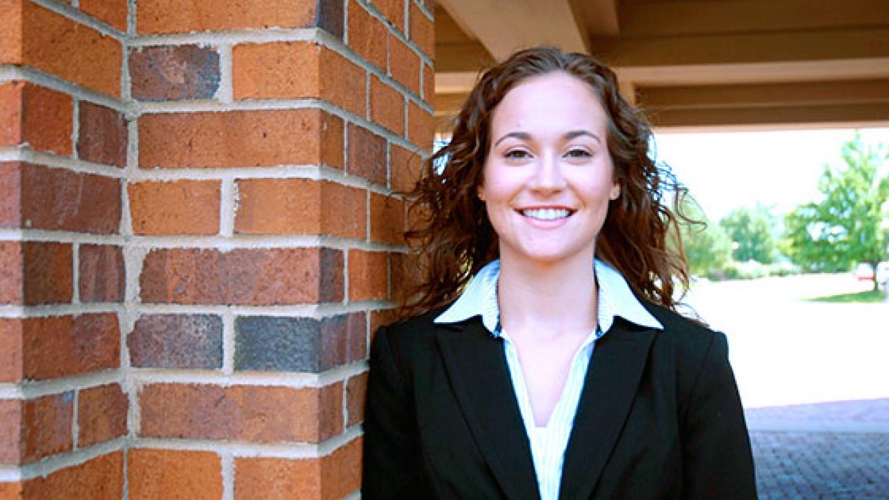 Photo of WMU accountancy alumna.