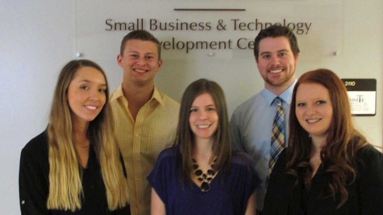 Photo of Business Connection interns
