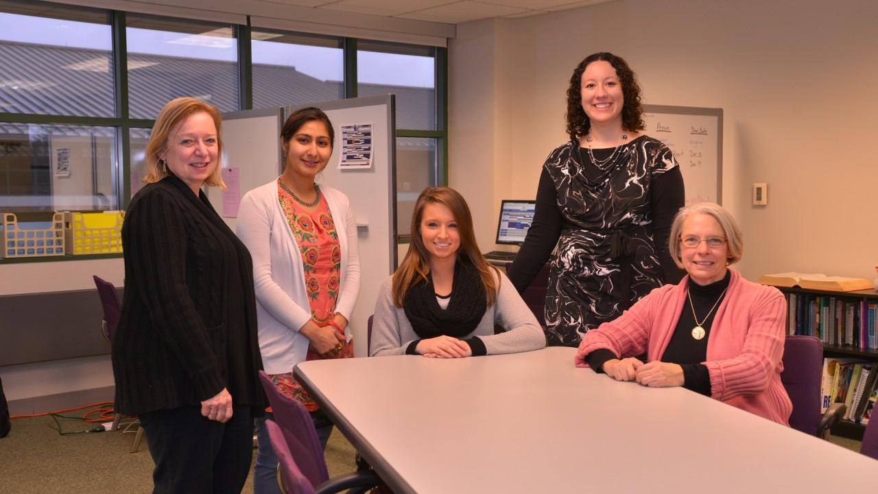 Photo of the 2014-15 communication center staff