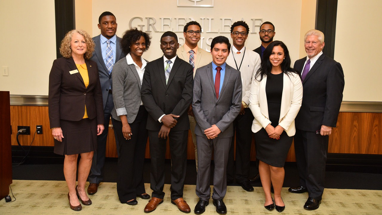 Greenleaf scholarship winners