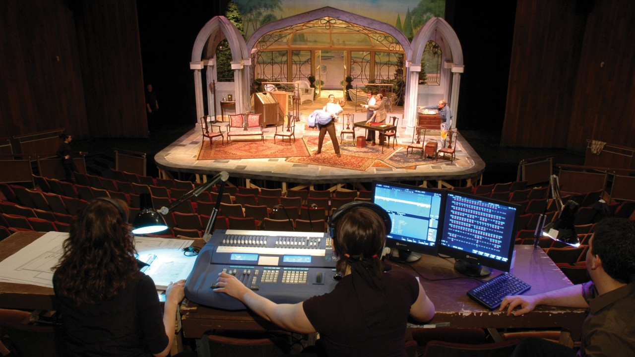 stage management Directing / stage management concentration students not only learn about the  skills needed to become a successful directors and stage managers, they also.
