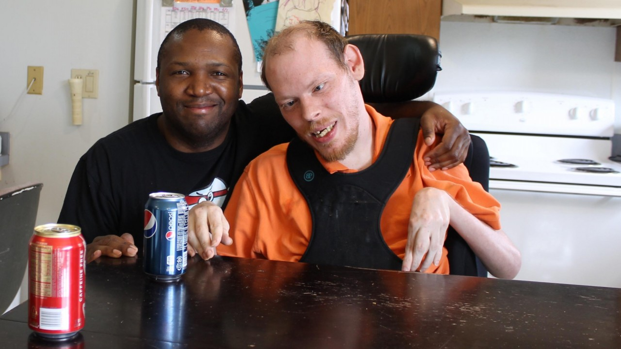 Photo of two men.