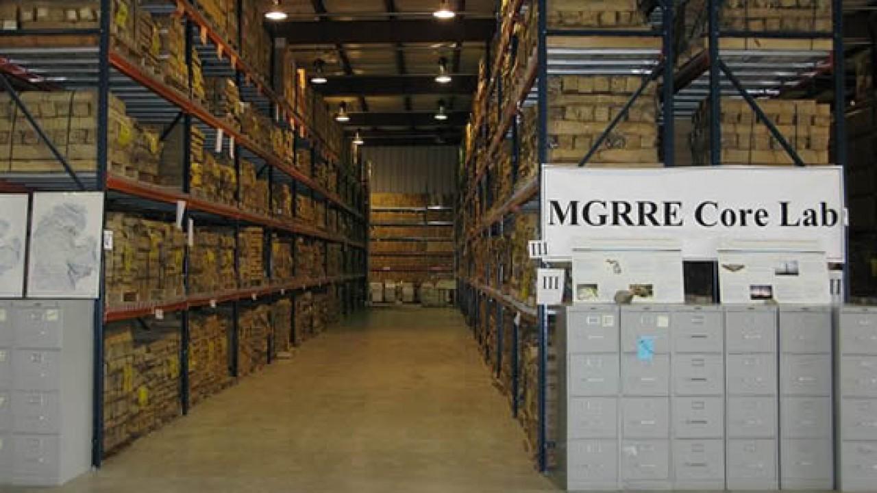 Core lab warehouse