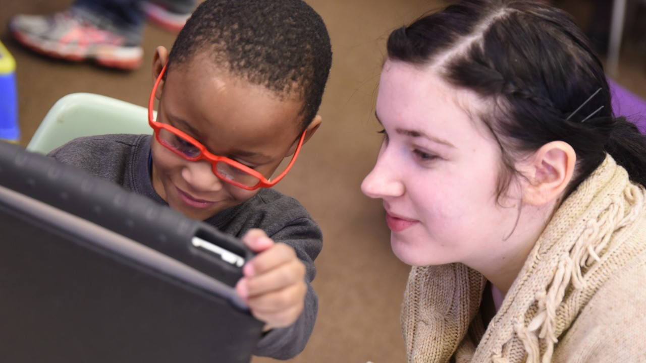 Student and intern at the Kalamazoo Autism Center.