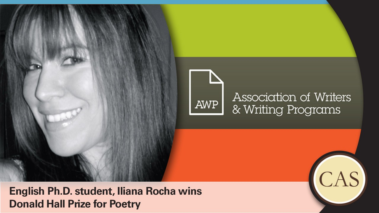 Iliana Rocha wins Donald Hall Prize for Poetry