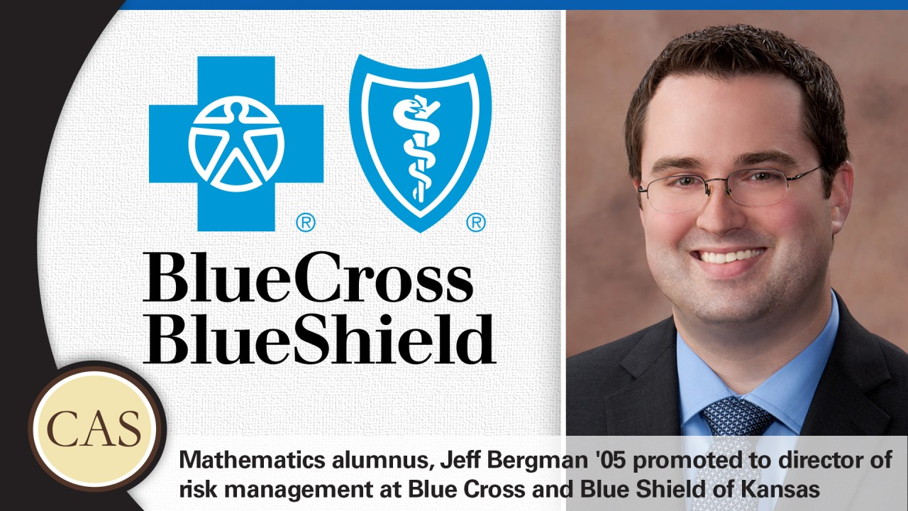 Jeff Bergman '05 promoted at Blue Cross Blue Shield