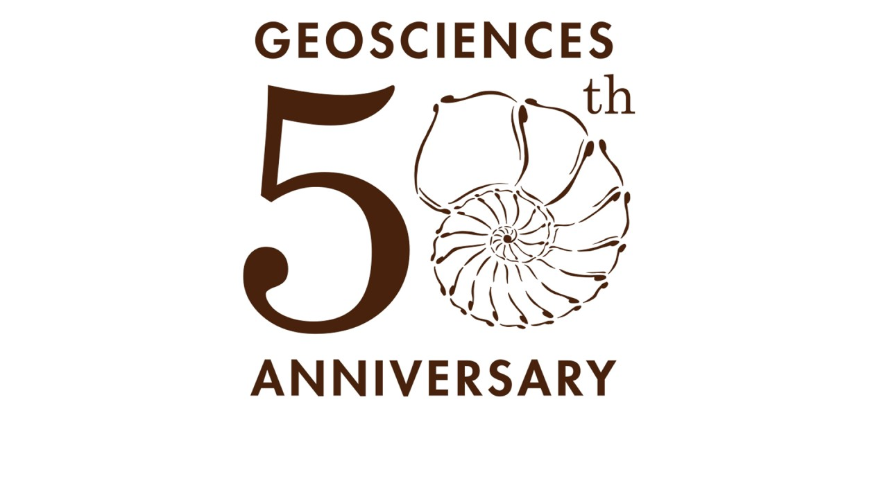 2015 marks the fiftieth anniversary of the Department of Geosciences