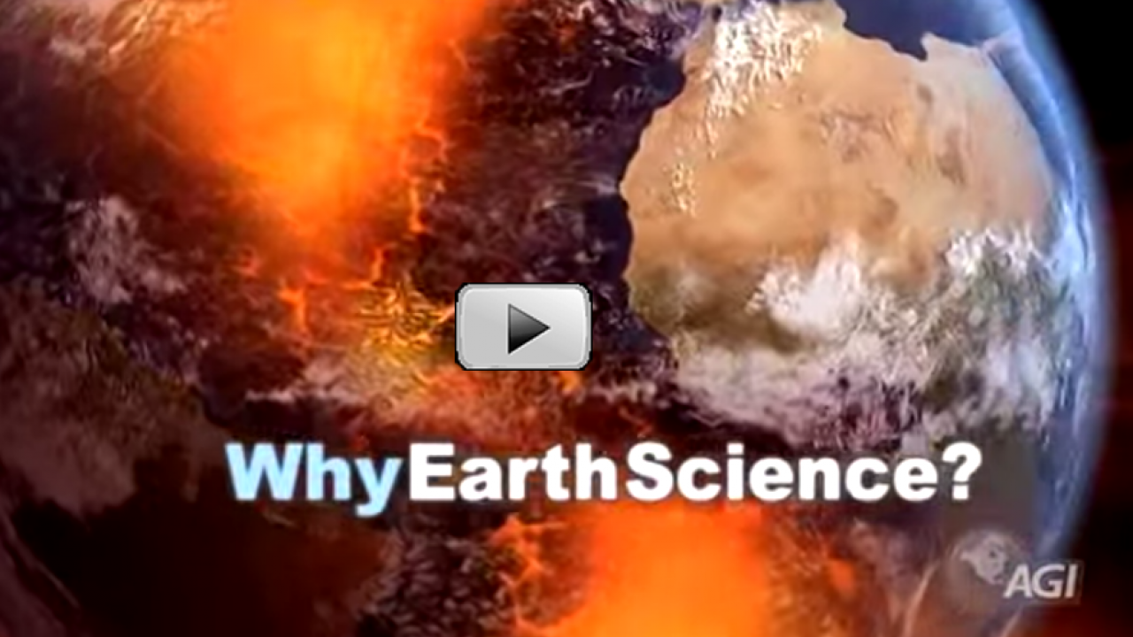This video provides a great introduction to the field of earth sciences