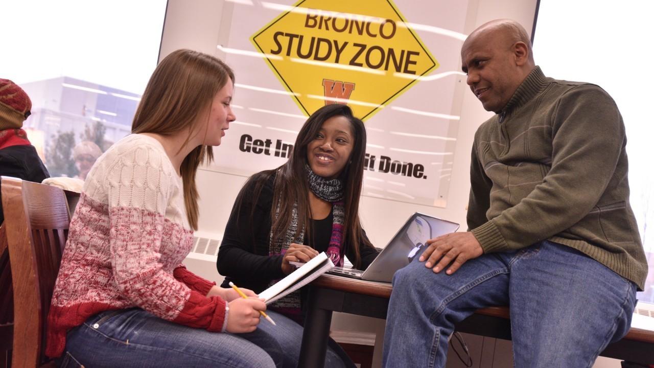 Bronco Study Zone