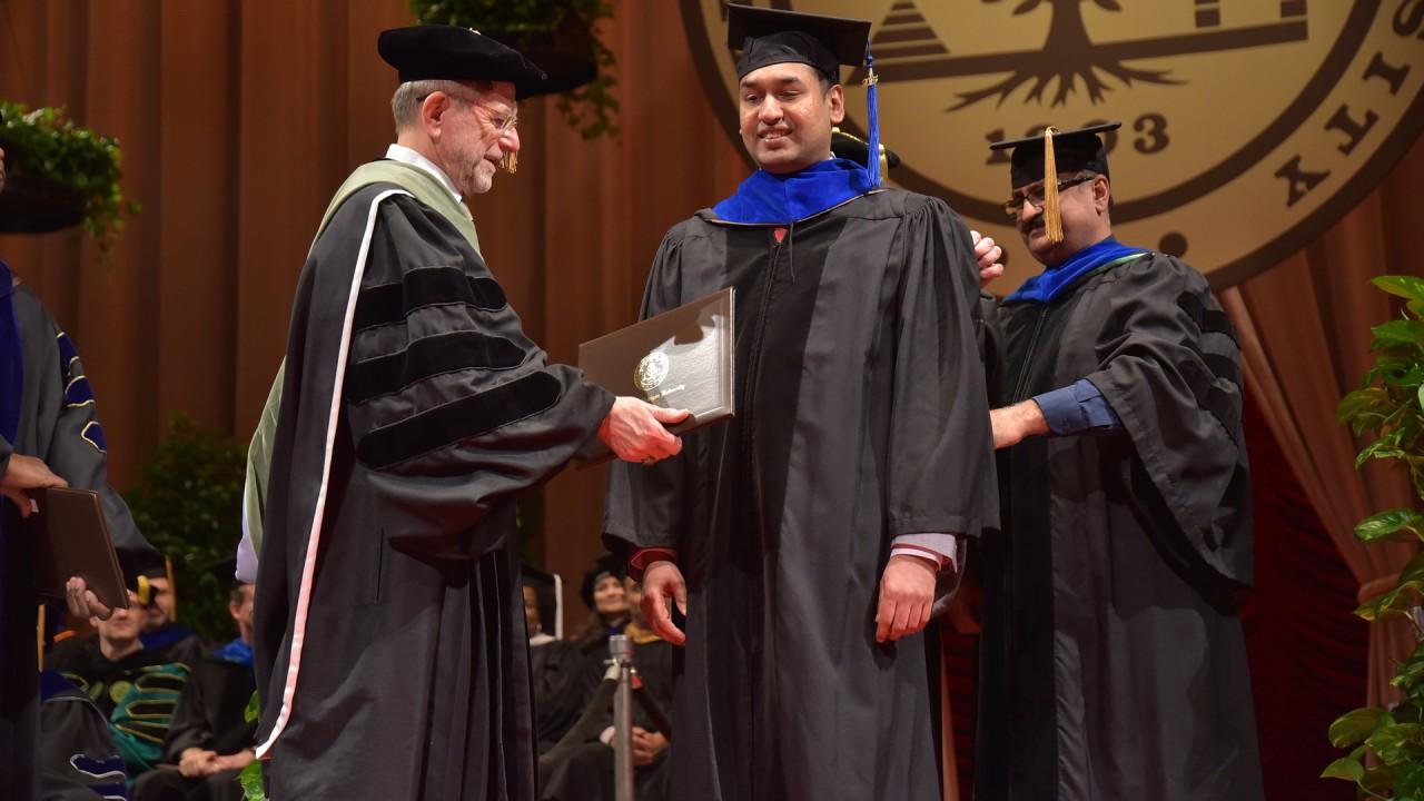 2015 Ph.D. graduate