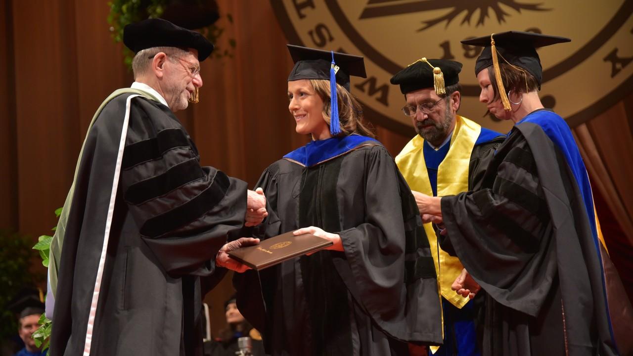 Kelly, Ph.D. graduate