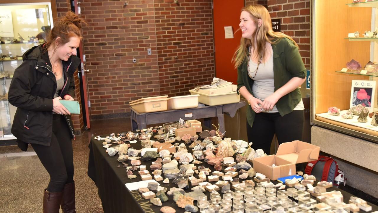 Geology Club mineral sale