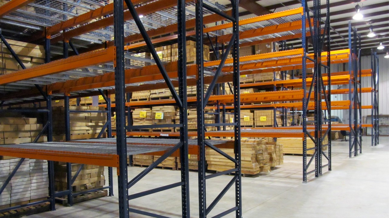 New racking at MGRRE