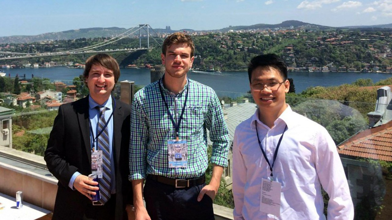 WMU students capture first prize at engineering conference in Istanbul