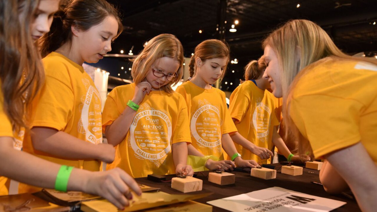 2016 Corporate Engineering Challenge at the Air Zoo in Kalamazoo