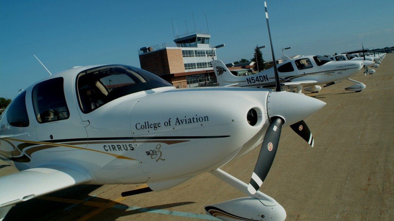Photo of WMU College of Aviation.