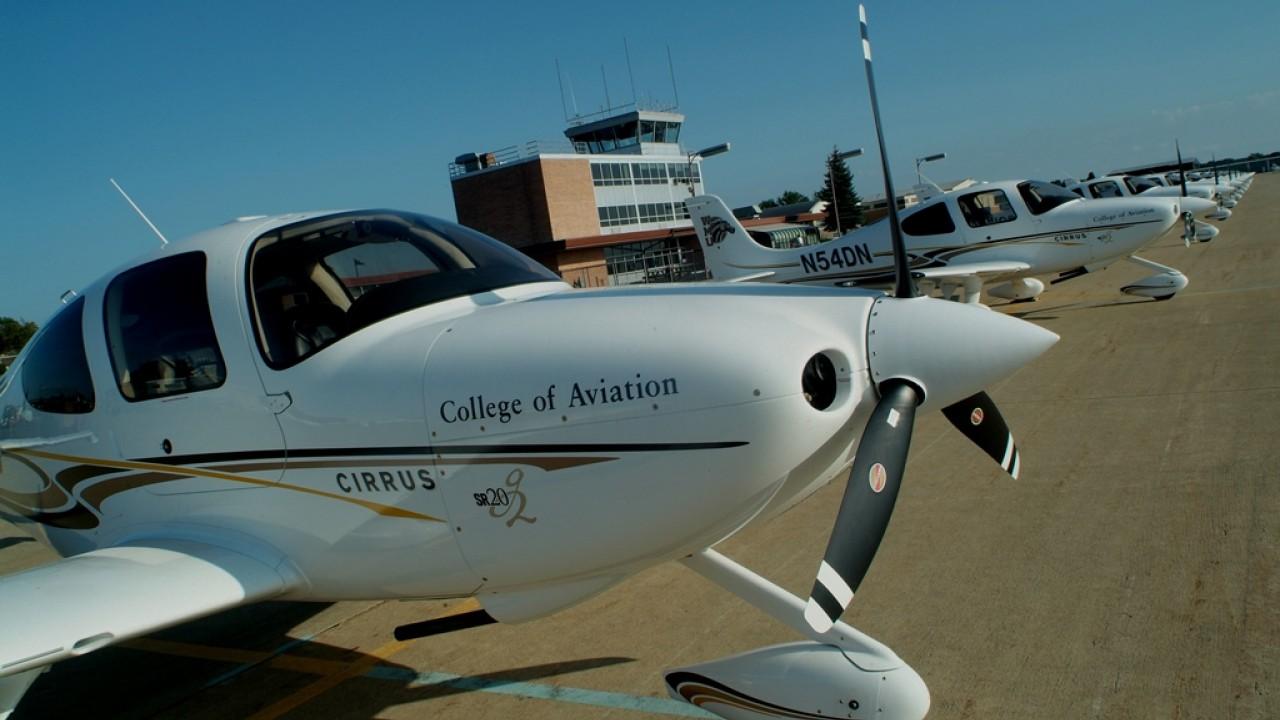 Photo of WMU College of Aviation.