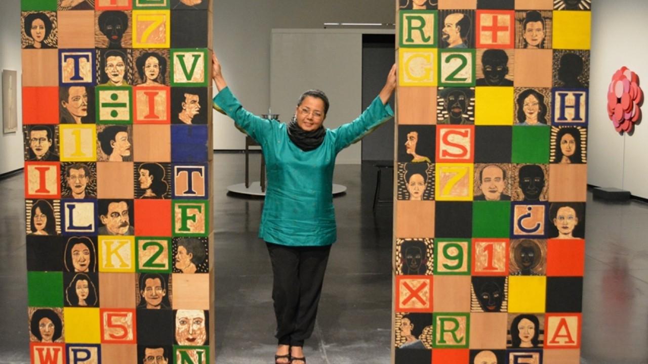 Dominican Republic artist at WMU