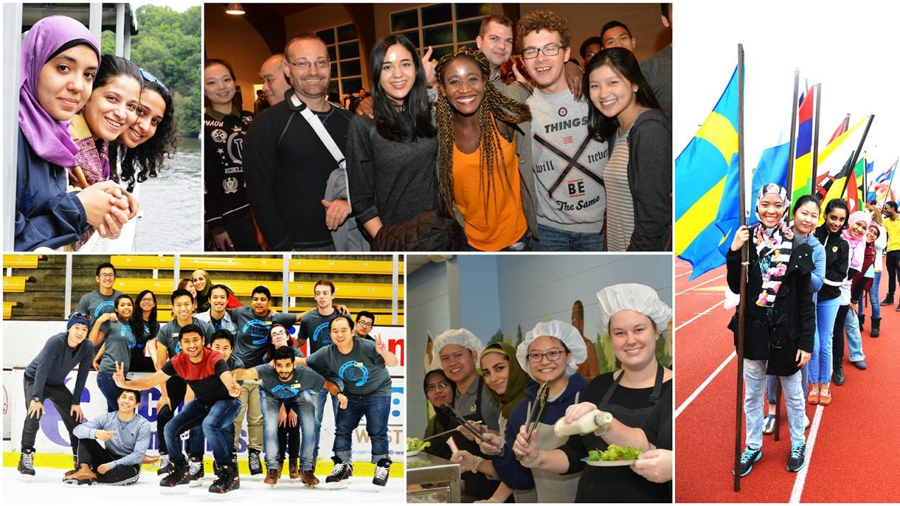 WMU students at international activities