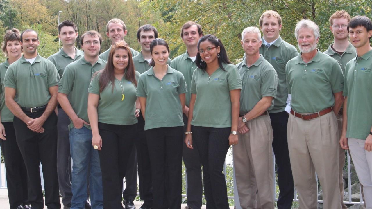photo of WMU green manufacturing team