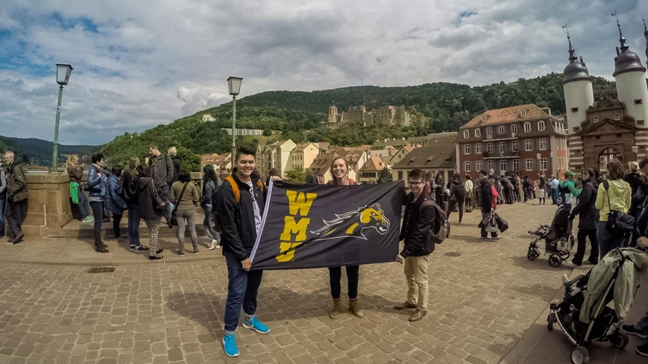 WMU students in Germany