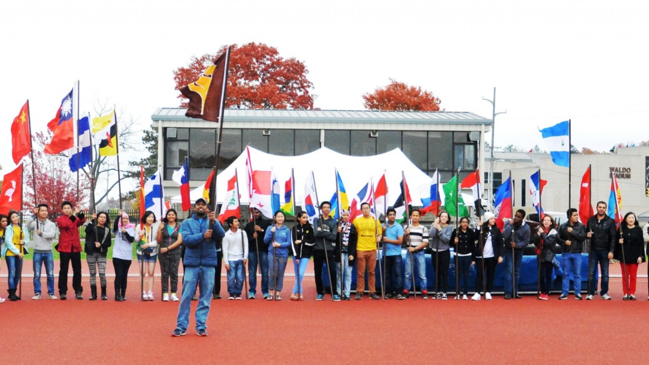 WMU Parade of Flags